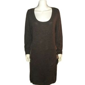 ALYX  Women's Wool Long Sweater Dress w Pockets